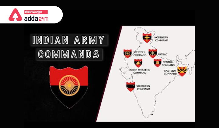 Commands of Indian Army|ഇന്ത്യൻ ആർമിയുടെ കമാൻഡുകൾ_40.1