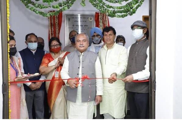 Narendra Singh Tomar inaugurates world's second-largest refurbished gene bank| ലോകത്തിലെ ഏറ്റവും വലിയ രണ്ടാമത്തെ പുതുക്കിയ ജീൻ ബാങ്ക് നരേന്ദ്ര സിംഗ് തോമർ ഉദ്ഘാടനം ചെയ്യുന്നു_40.1