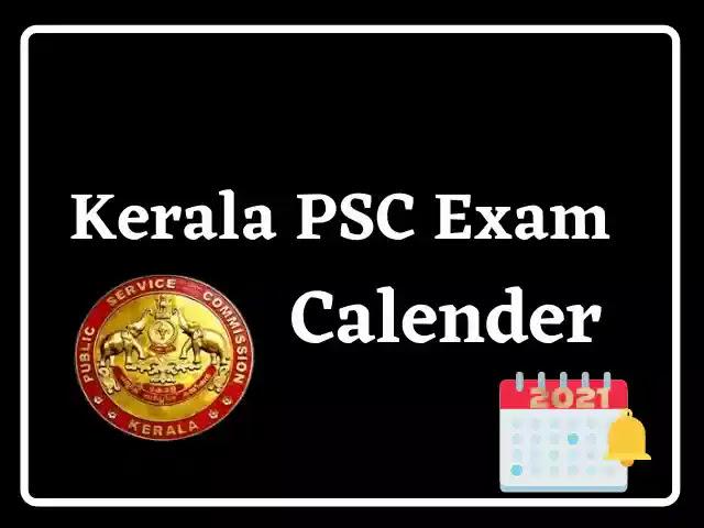 Kerala PSC November Exam Calendar 2021 കേരള PSC നവംബർ പരീക്ഷ കലണ്ടർ 2021_40.1