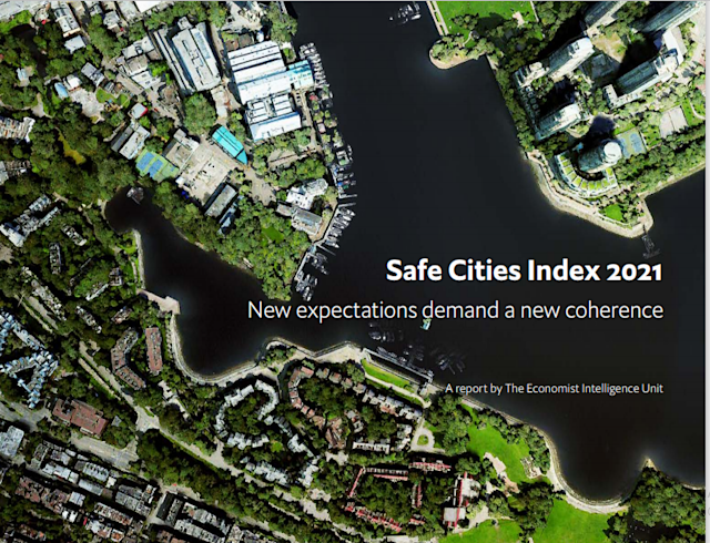 Copenhagen tops EIU's Safe Cities Index 2021| EIU- യുടെ സുരക്ഷിത നഗര സൂചിക 2021 -ൽ കോപ്പൻഹേഗൻ ഒന്നാമതെത്തി_40.1