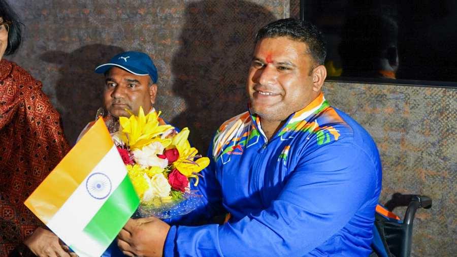 Tekchand as India's new flag-bearer in Tokyo Paralympics| ടോക്കിയോ പാരാലിമ്പിക്സിൽ തെക്ചന്ദ് ഇന്ത്യയുടെ പുതിയ പതാകവാഹകനായി_40.1