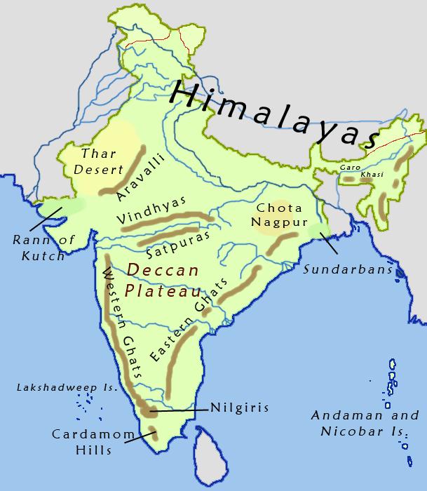ഇന്ത്യയിലെ പ്രധാനപ്പെട്ട മലനിരകൾ( Important Hill Ranges of India)_40.1