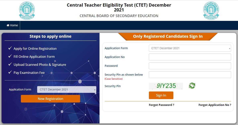 CTET Application Form 2021: Apply Online @ctet.nic.in_50.1