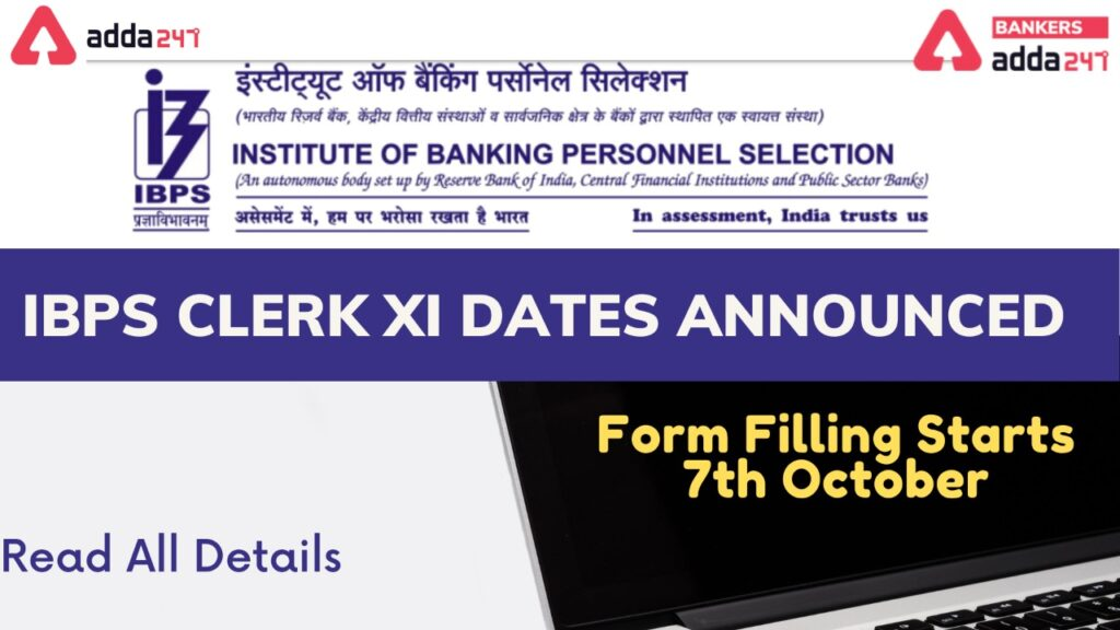 IBPS Clerk 2021 New Official Notification Out; Vacancy Increased_40.1
