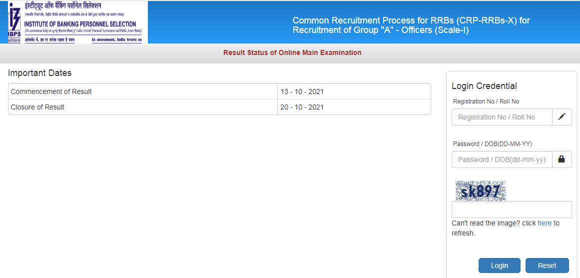 IBPS RRB PO Mains Result 2021 Out, Check Officer Scale-1 Result_50.1