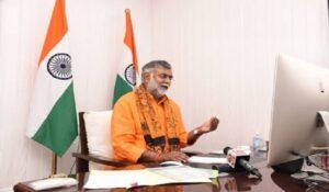 Prahlad Singh Patel inaugurates first-ever online exhibition on Ramayana | प्रल्हादसिंग पटेल यांच्या हस्ते रामायणाचे प्रथमच ऑनलाइन प्रदर्शनाचे उद्घाटन झाले_40.1