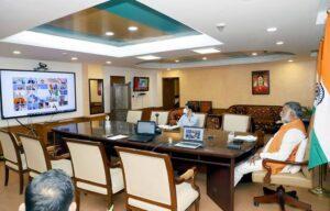Prahlad Singh Patel Virtually Participates In G20 Tourism Ministers' Meeting | जी -20 पर्यटन मंत्र्यांच्या बैठकीत प्रल्हादसिंग पटेल यांचा सहभाग_40.1