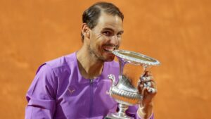 Rafael Nadal wins 10th Italian Open title | राफेल नदालने 10 वी इटालियन ओपन स्पर्धा जिंकली_40.1