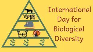 International Day for Biological Diversity: 22 May | जैविक विविधतेसाठी आंतरराष्ट्रीय दिनः 22 मे_40.1