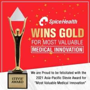 SpiceHealth wins Gold Stevie Award 2021 | स्पाइस हेल्थने गोल्ड स्टीव्ही पुरस्कार 2021 जिंकला_40.1