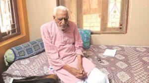 Freedom fighter HS Doreswamy passes away   स्वातंत्र्यसैनिक एच एस दुरेस्वामी यांचे निधन_40.1