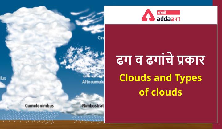 ढग व ढगांचे प्रकार (Dhaganche Prakar) - Clouds and Types of Clouds_40.1