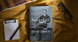 A book title 'Savarkar: A contested Legacy (1924-1966) authored by Vikram Sampath | विक्रम संपत यांनी लिहिले 'सावरकर: अ कॉन्टेस्ट लिगेसी' (1924-1966) या शीर्षकाचे पुस्तक_40.1
