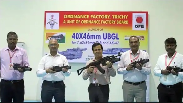 Ordnance Factory launches new weapon 'Trichy Carbine'_40.1