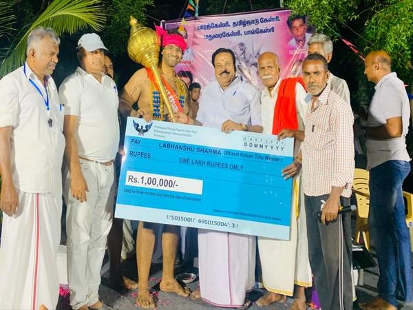 Labhanshu Sharma: wins Bharat Kesari Wrestling Dangal_40.1