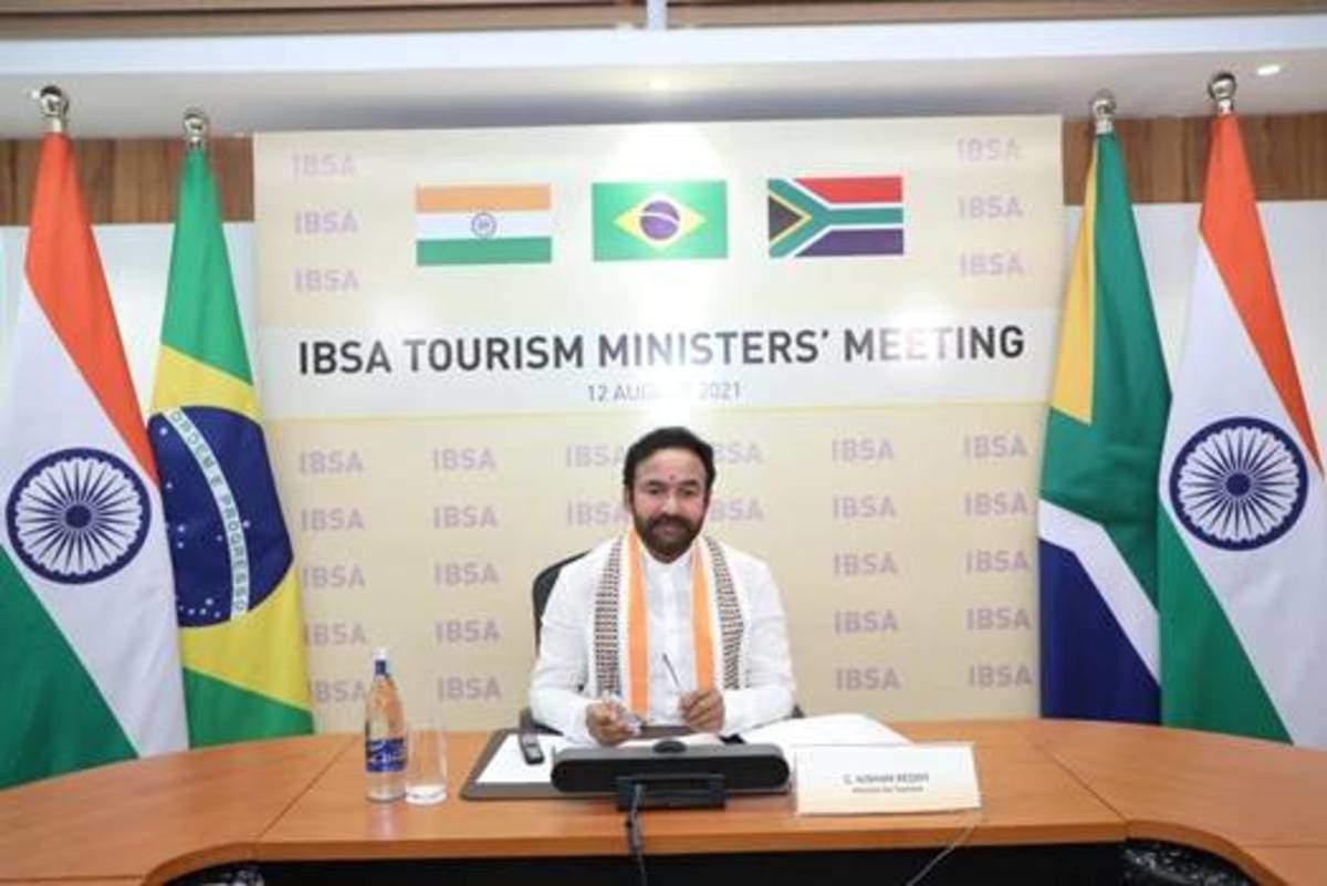 India organises the IBSA Tourism Ministers' Meet Virtually_40.1