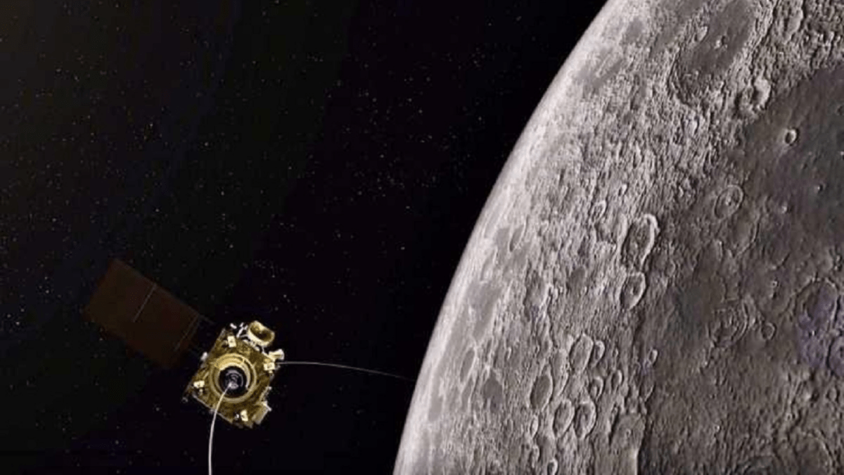 Chandrayaan-2 detects water molecules on lunar surface_40.1