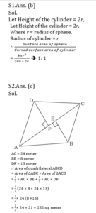 Mathematics Quiz in Marathi | 26 August 2021 | For MPSC Group B |_60.1