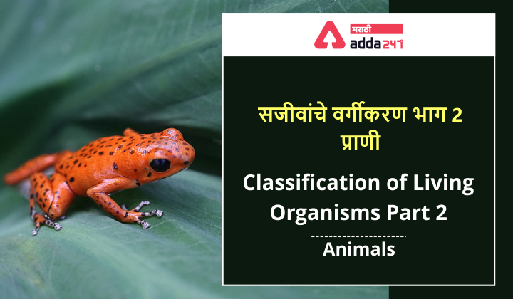 सजीवांचे वर्गीकरण भाग 2 - प्राणी | Classification of Living Organisms Part 2- Animals_40.1
