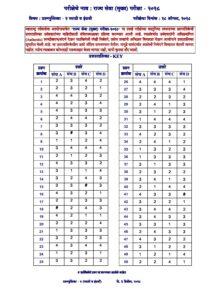 MPSC Rajyaseva Mains Exam 2018 Marathi & English Objective Answer Key_40.1