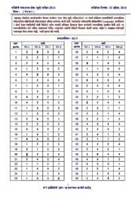 MPSC Rajyaseva Prelims Exam 2016 GS Paper 1 Answer Key_40.1