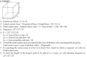 Mensuration Formula For 2D And 3D Shapes | 2D आणि 3D आकारांसाठी मेन्सुरेशन फॉर्म्युला_50.1