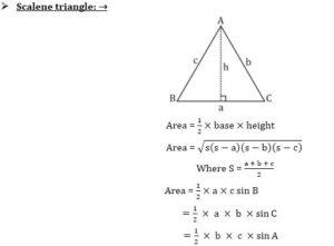 Mensuration Formula For 2D And 3D Shapes | 2D आणि 3D आकारांसाठी मेन्सुरेशन फॉर्म्युला_100.1