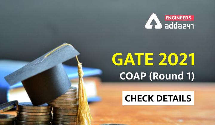 GATE 2021: COAP Check details. |_40.1