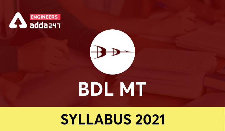 BDL MT Syllabus 2021, Download Official PDF  _40.1