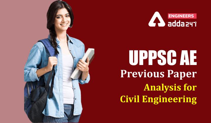 UPPSC AE Exam Analysis 2021 Civil Engineering  _30.1