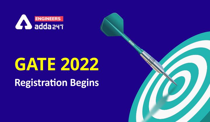 GATE 2022 Registration Starts 2 September ( Extended) |_40.1