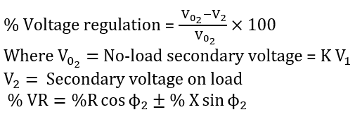 Daily Concept Booster Electrical Engineering: Voltage Regulation of Transformer  _50.1