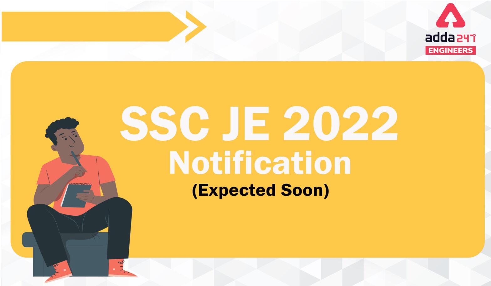 SSC JE Notification 2022, Check Latest Update! |_40.1
