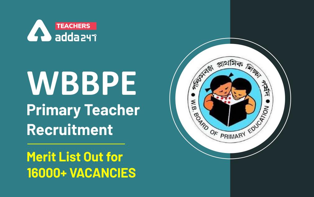 WBBPE Primary Teacher Recruitment 2021: Check Scrutiny, Aptitude Test Schedule_40.1