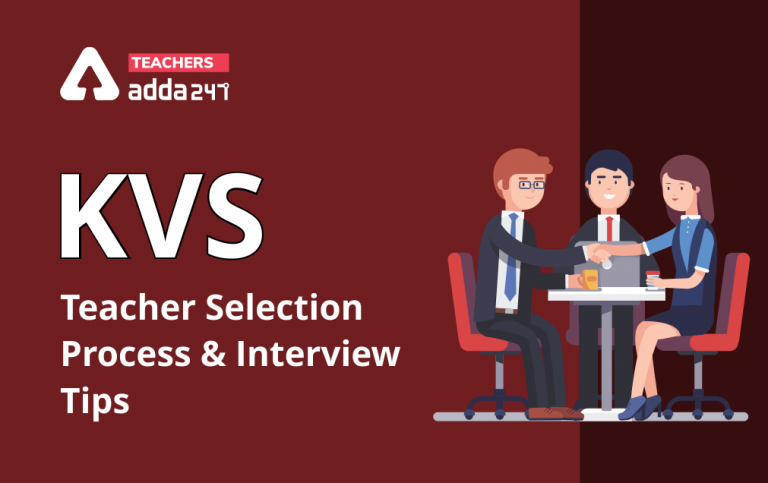 KVS Recruitment 2021: KVS Teacher Selection Process And Interview Tips |_20.1