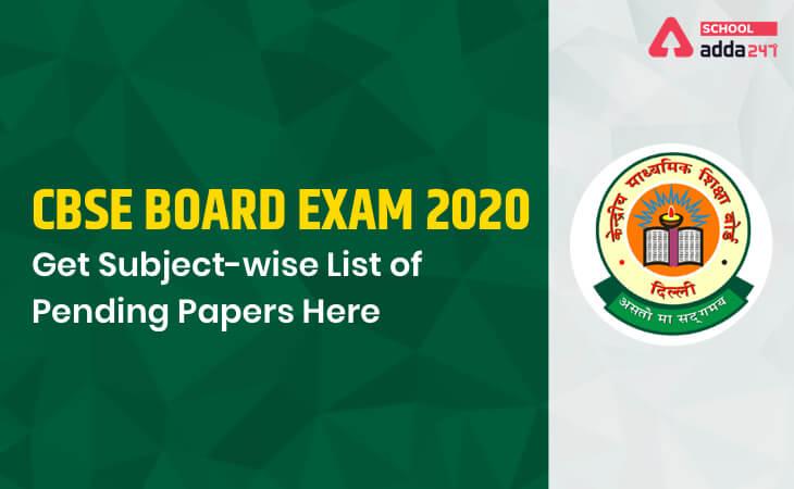 cbse 29 subject list, cbse date sheet 2020, cbse class 10 exam date sheet, cbse 12th date sheet, remaining cbse board exams, subject-wise cbse board exam dates, hrd minister, Ramesh pokhriyal, 29 subjects