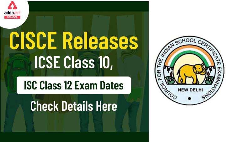 ICSE Exam 2020