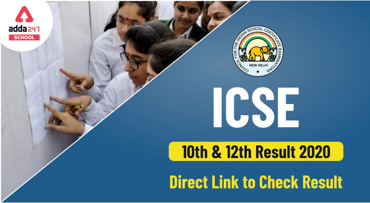 cisce result 2020, icse 10th result 2020, isc 12th result 2020