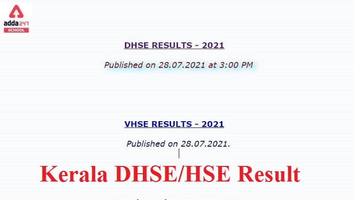 DHSE / HSE Kerala Higher Secondary (Plus Two) Results 2021 Out @ www.keralaresults.nic.in_30.1