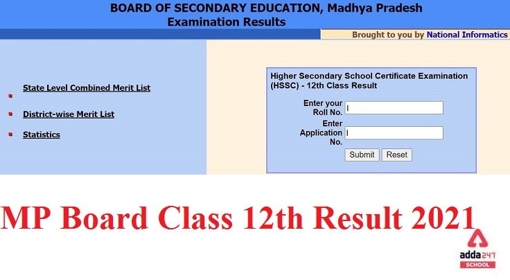 MP Board Class 12th Result 2021 Out! Check Here at www.mpbse.nic.in_80.1