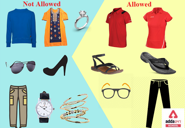 NEET Dress Code 2021 for Male and Female by NTA | adda247_40.1