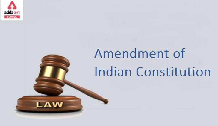 List of Some Important Amendments of the Indian Constitution_40.1