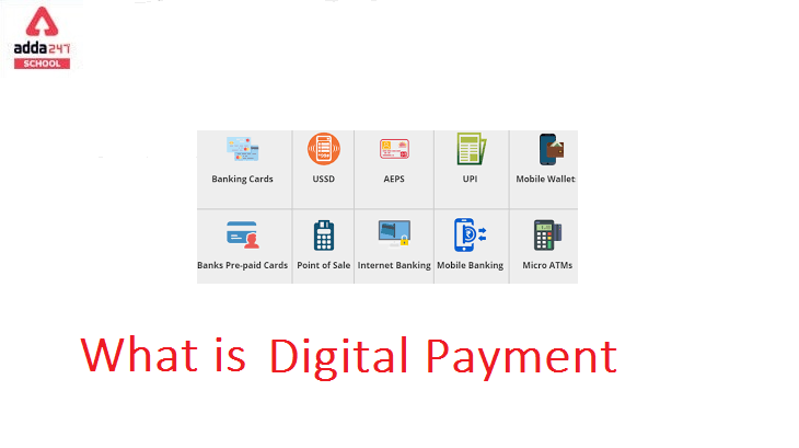 What is Digital Payment Transaction System? adda247_40.1