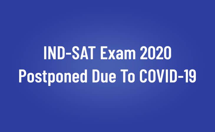 sat exam 2020, IND-SAT Exam 2020