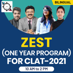 Crash course for Clat 2020