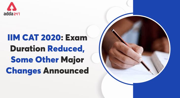 iim cat 2020 exam update