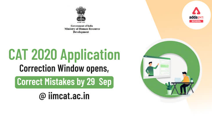 CAT 2020 Application Correction Window Opens, Correct Mistakes by 29 September @iimcat.ac.in_30.1