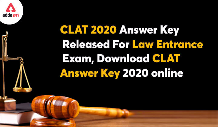 CLAT Answer Key 2020 (Released): Download Provisional and Final Answer Key @consortiumofnlus.ac.in_30.1