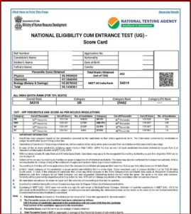 NEET Result 2020 Declared: Check NEET UG Result, Scorecard And List Of Toppers @ntaneet.nic.in_60.1