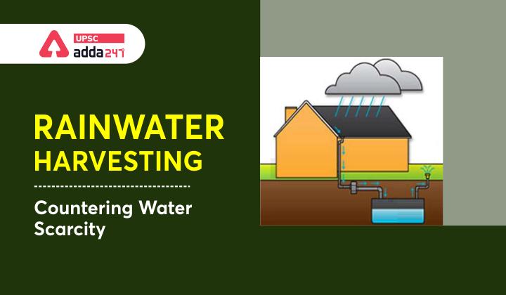 Rainwater harvesting: Countering Water Scarcity_40.1